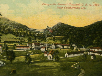 Decorative Thumbnail for the  				    Clarysville Civil War Hospital Digital Collection.
